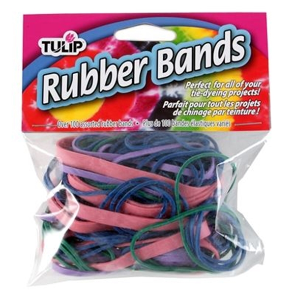 Picture of Rubber Bands Assorted Size 100 Pack