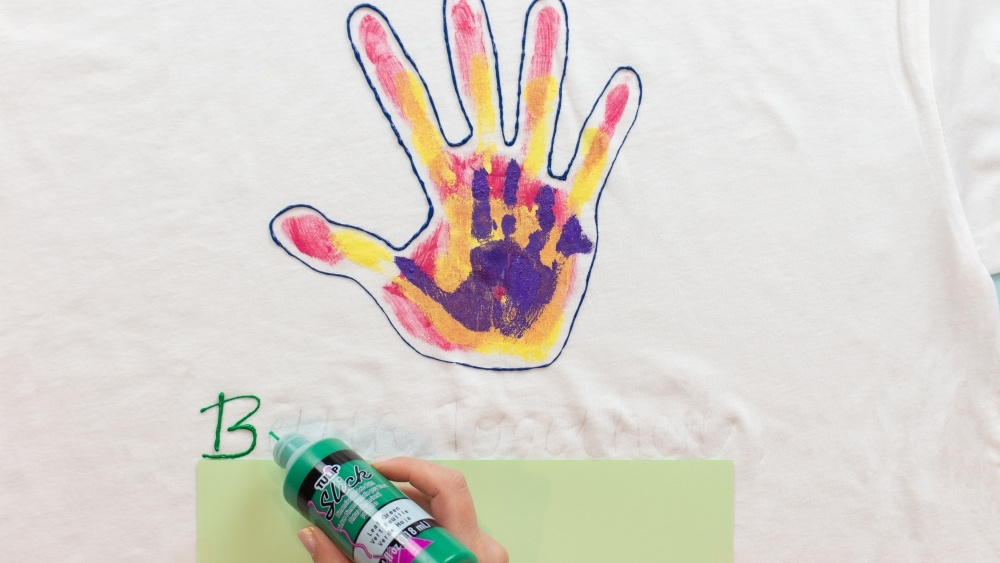 Trace wording with Dimensional Paint