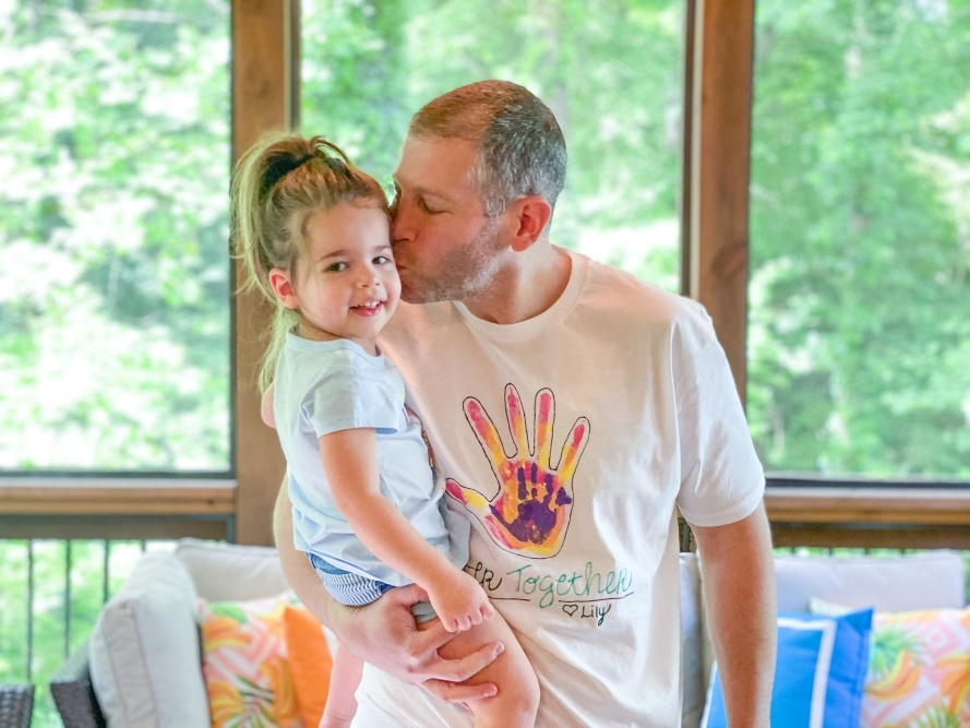 Father's Day Handprint T-shirt