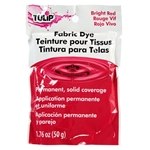 Picture of Tulip® Permanent Fabric Dye Bright Red