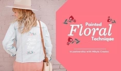 Floral Painting Technique with Tulip Dimensional Paint