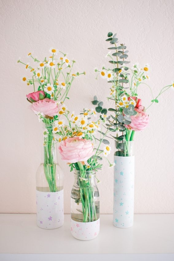 Dimensional Paint Vases