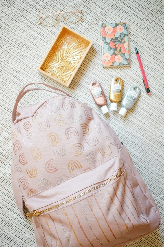 How to Decorate a Backpack with Tulip Dazzling Glitter Paint