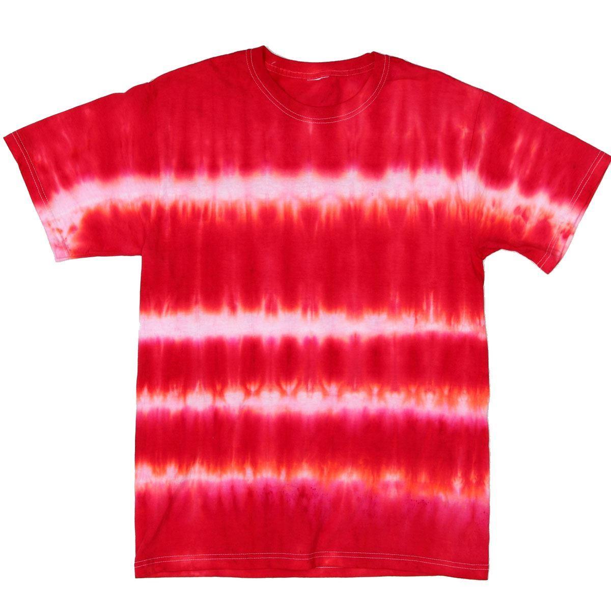 Red Tie Dye T-shirt