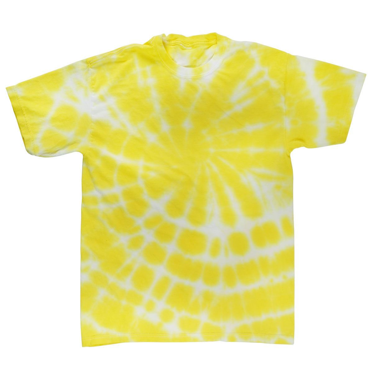 Yellow Tie Dye T-shirt