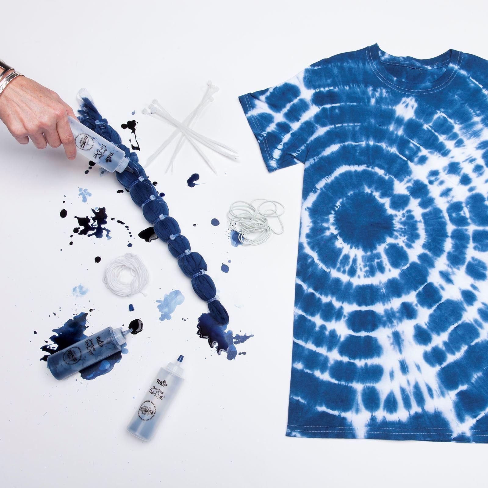 Shibori 3 Color Tie Dye Shirt