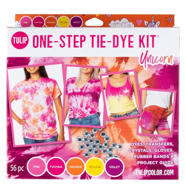 Picture of Tulip® One-Step Tie-Dye Kit Unicorn