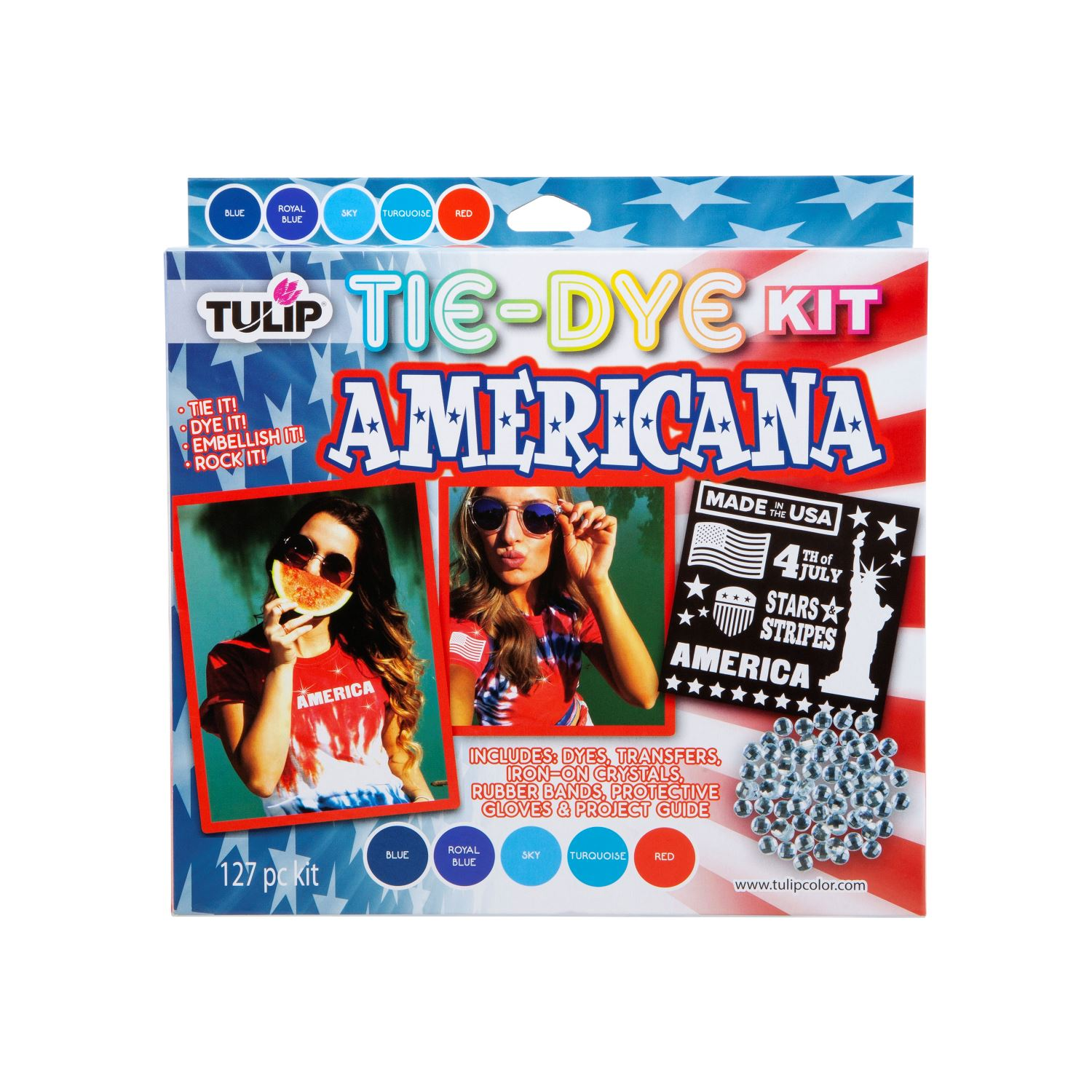 Picture of Tulip® Tie-Dye Kit Americana