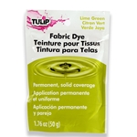 Picture of Permanent Fabric Dye Lime Green