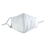 Picture of White Cotton Face Mask
