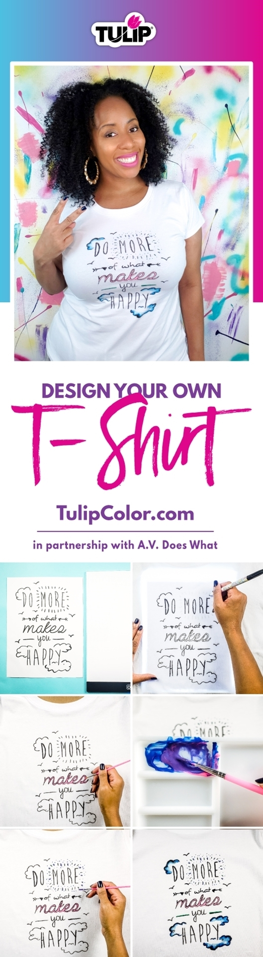 The Easiest Way to Design Your Own T-shirt