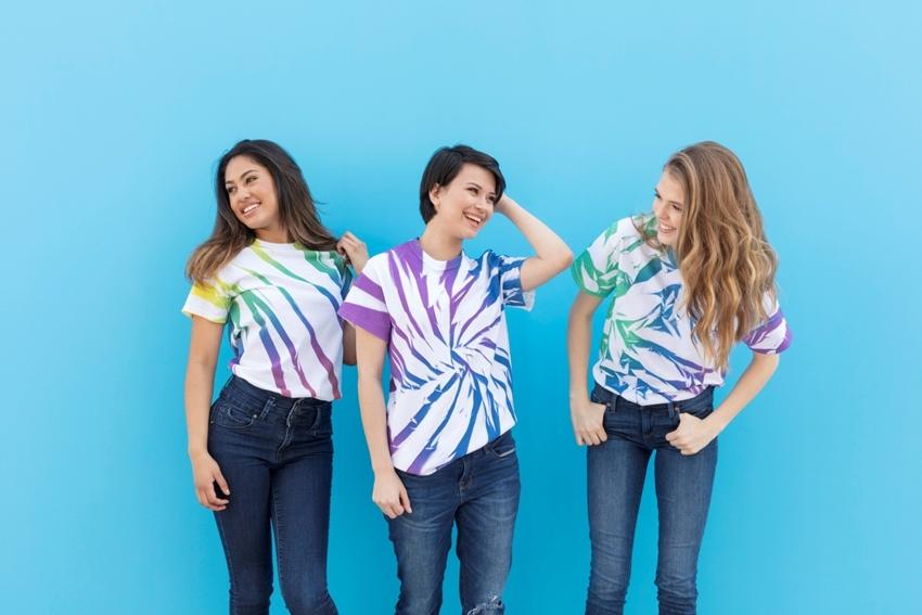 ColorShot tie-dye T-shirts