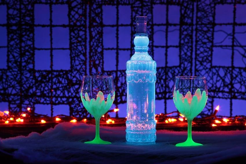 Glow-in-the-Dark Goblets