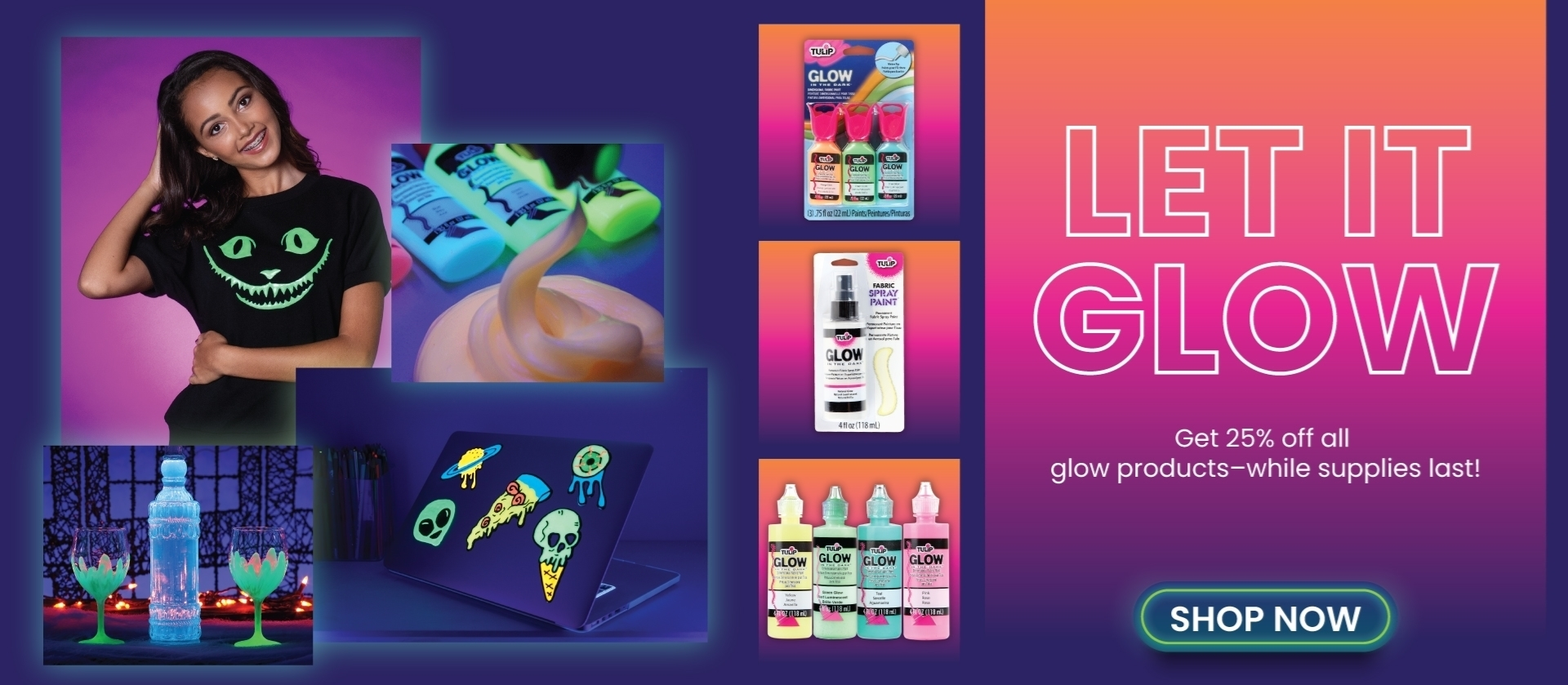 25% Off All Glow Products