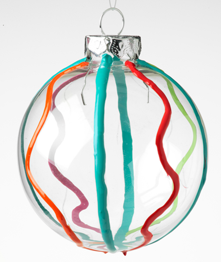 Squiggle Ornament