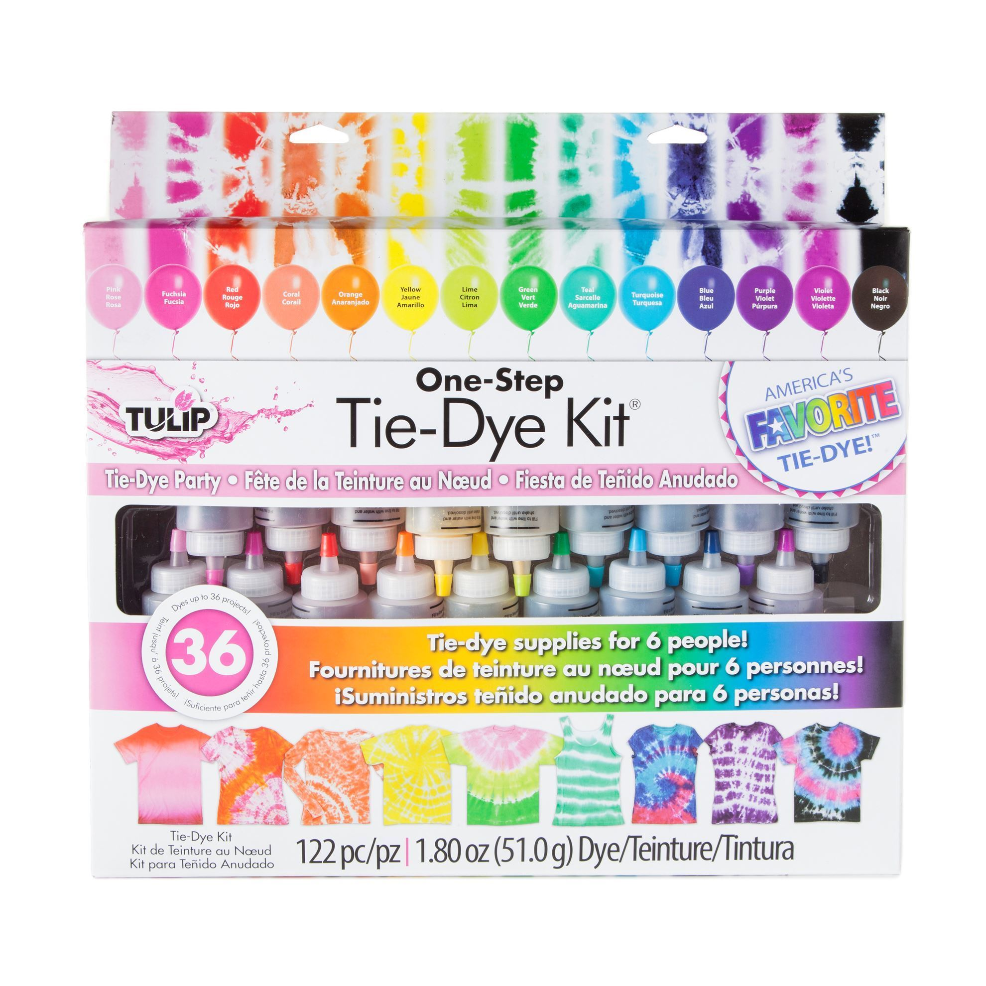 Picture of Party 18-Color Tie-Dye Kit®