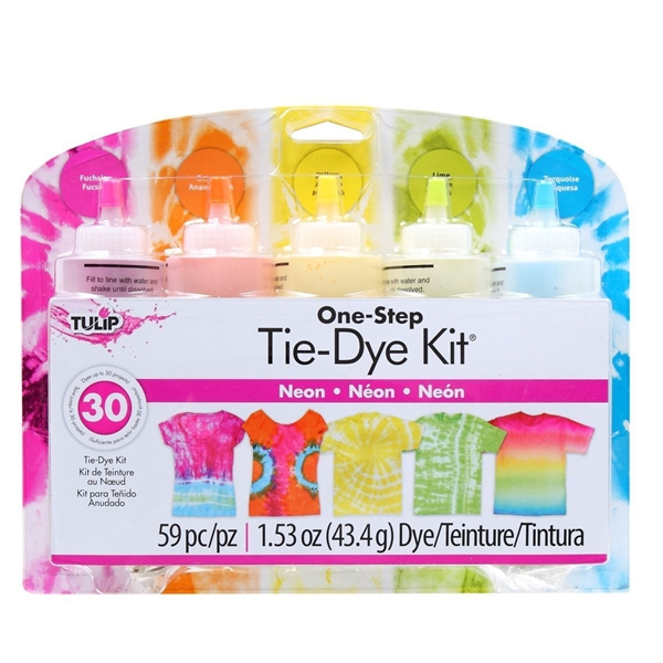 Picture of Neon 5-Color Tie-Dye Kit