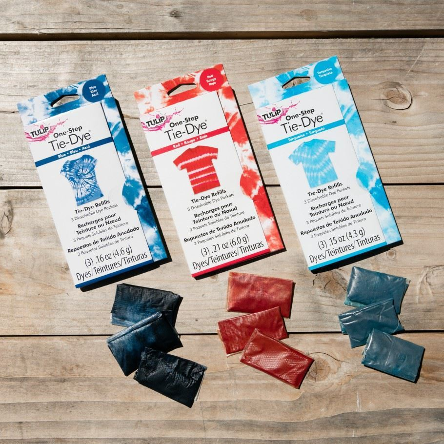 One-Step Tie-Dye Refills Fuchsia