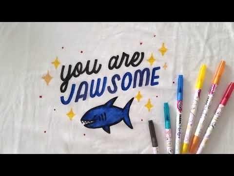 DIY Shark Week Shirt