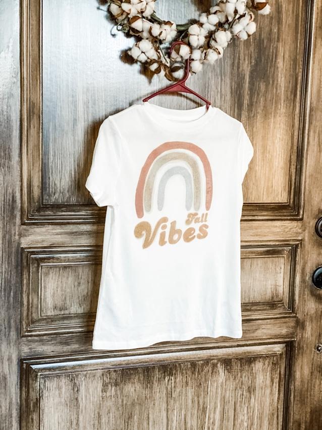 Fall Vibes DIY T-shirt