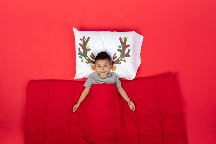 DIY Reindeer Pillowcase