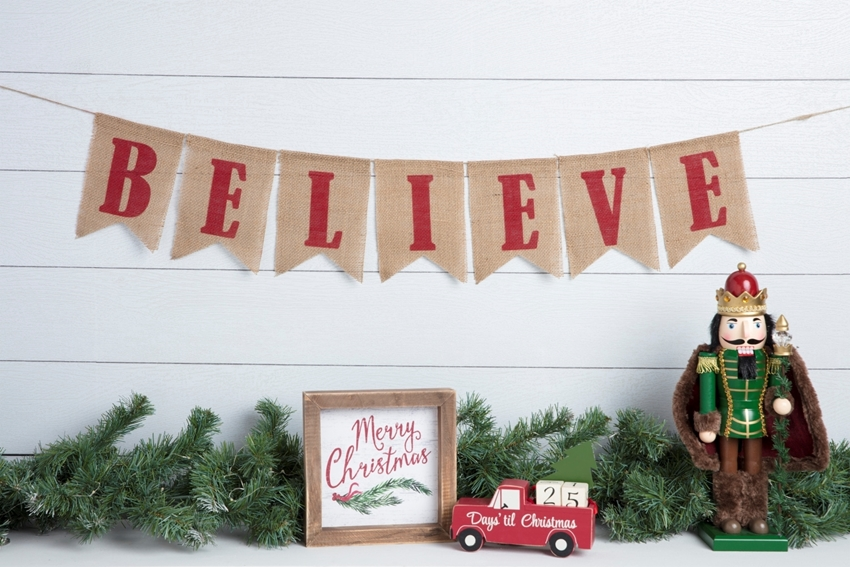 Believe Christmas Banner