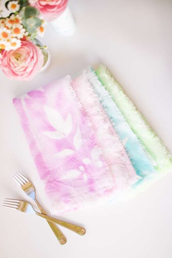 Dyed Cloth Napkins