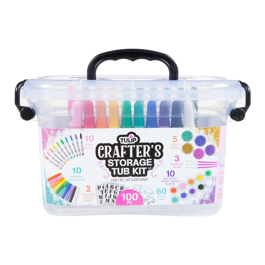 Crafter's Storage Tub Kit