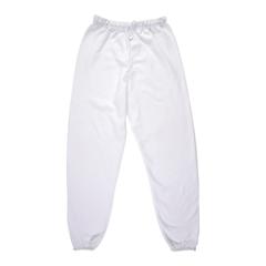 Adult White Sweatpants