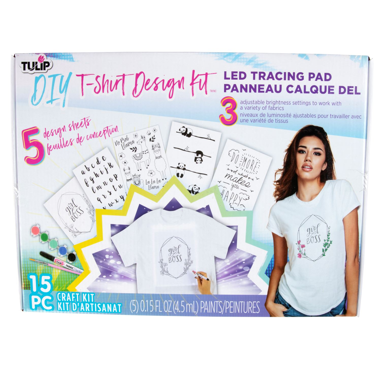Picture of DIY T-Shirt Design Kit LED Tracing Pad