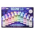 Picture of Glow in the Dark Dimensional Fabric Paint 10 Pack