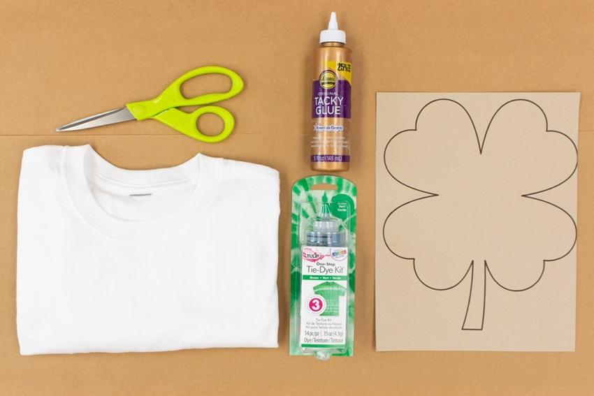 Shamrock T-shirt supplies