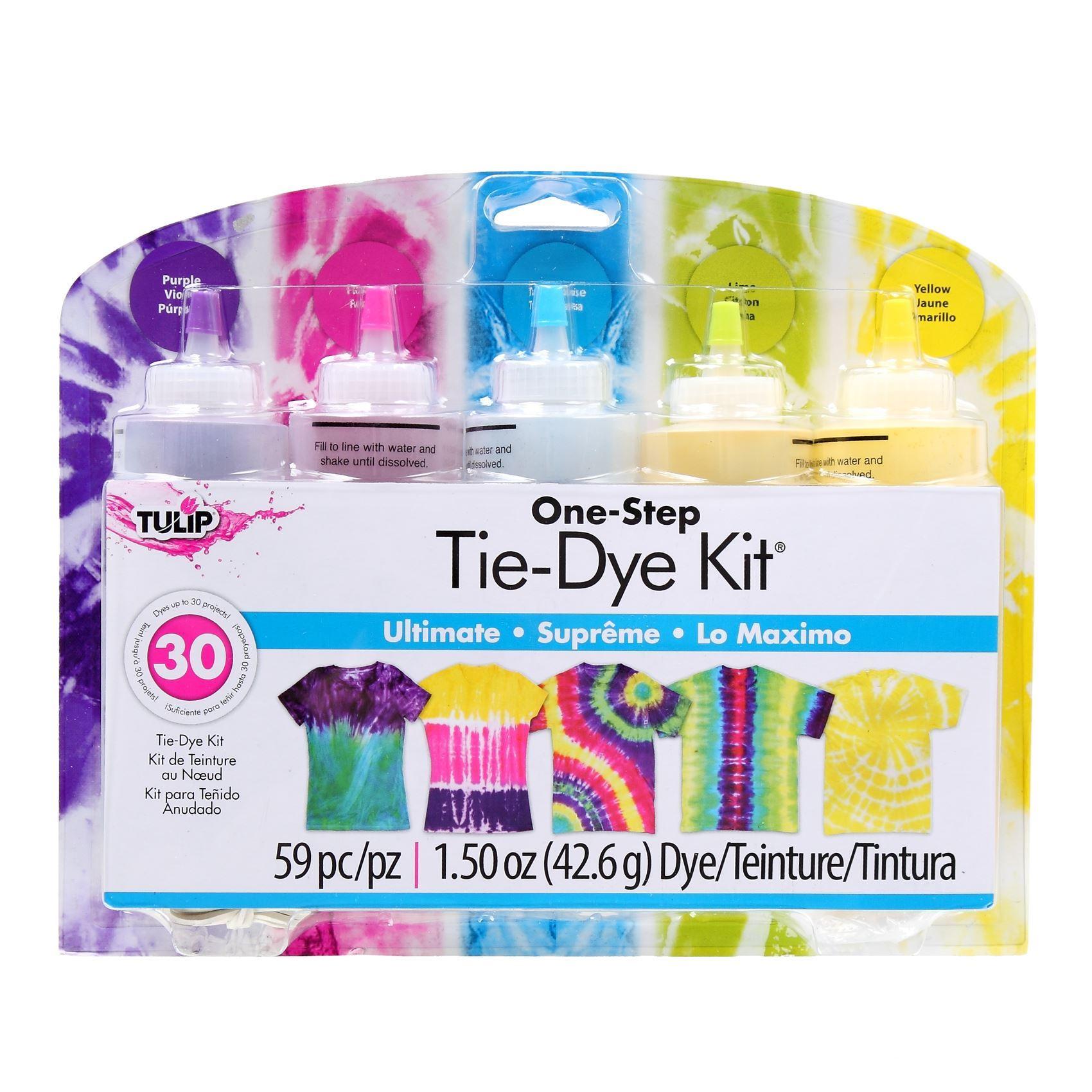 Ultimate 5-Color Tie-Dye Kit