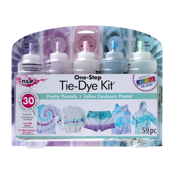 Picture of Pretty Pastels 5-Color Tie-Dye Kit