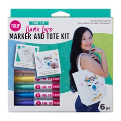 Picture of Llama Love Marker and Tote Kit