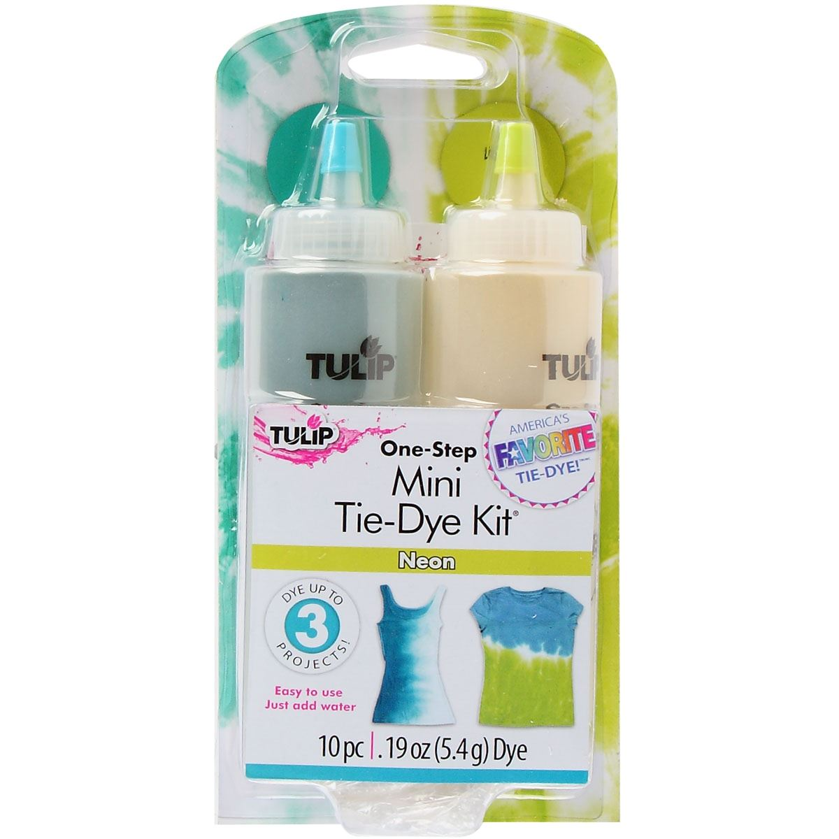 Picture of Tulip® One-Step Tie Dye Mini Kit Neon