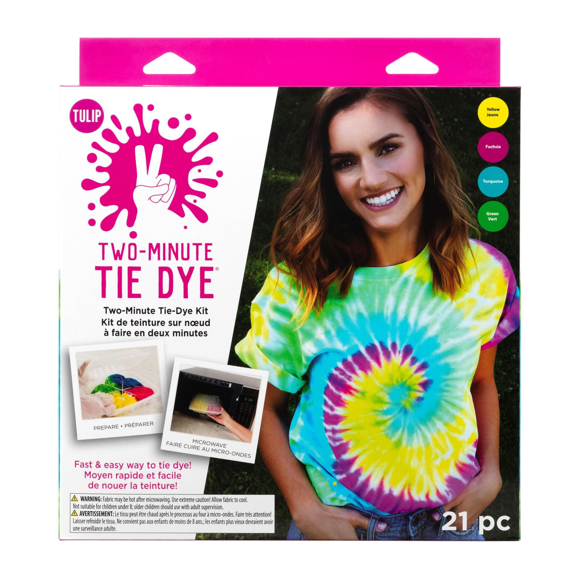 Picture of Tulip Two-Minute Tie Dye Kit