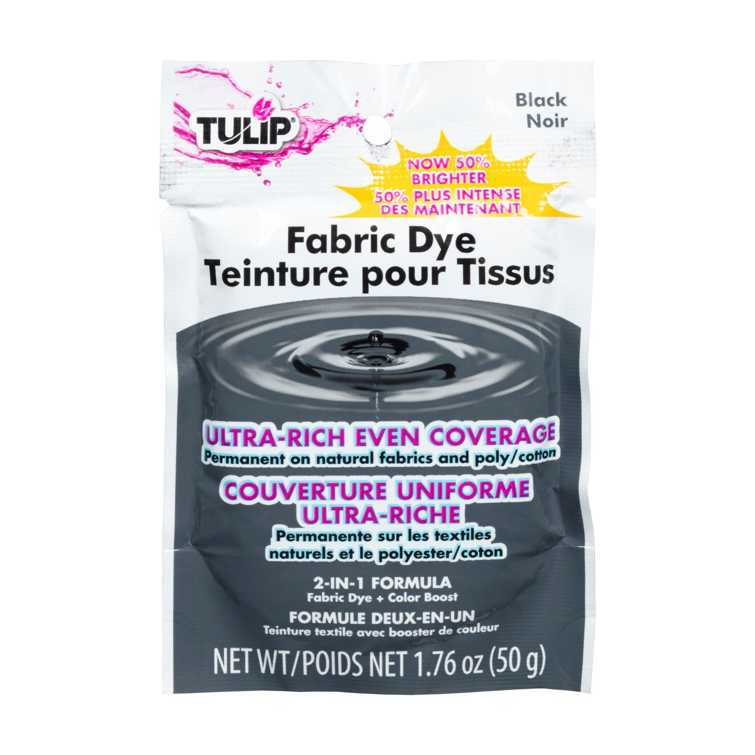 Picture of Tulip® Fabric Dye 2-N-1 Formula Black