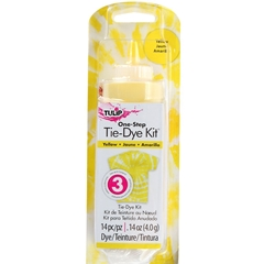 Yellow 1 Color Tie Dye Kit