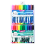 Picture of Fabric Marker Fine-Tip and Brush-Tip 25 Pack