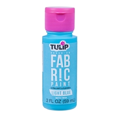 Picture of Brush-On Fabric Paint Light Blue Matte