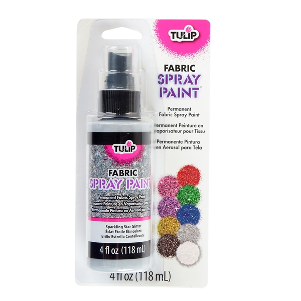 Picture of Fabric Spray Paint Sparkling Star Glitter 4 oz.