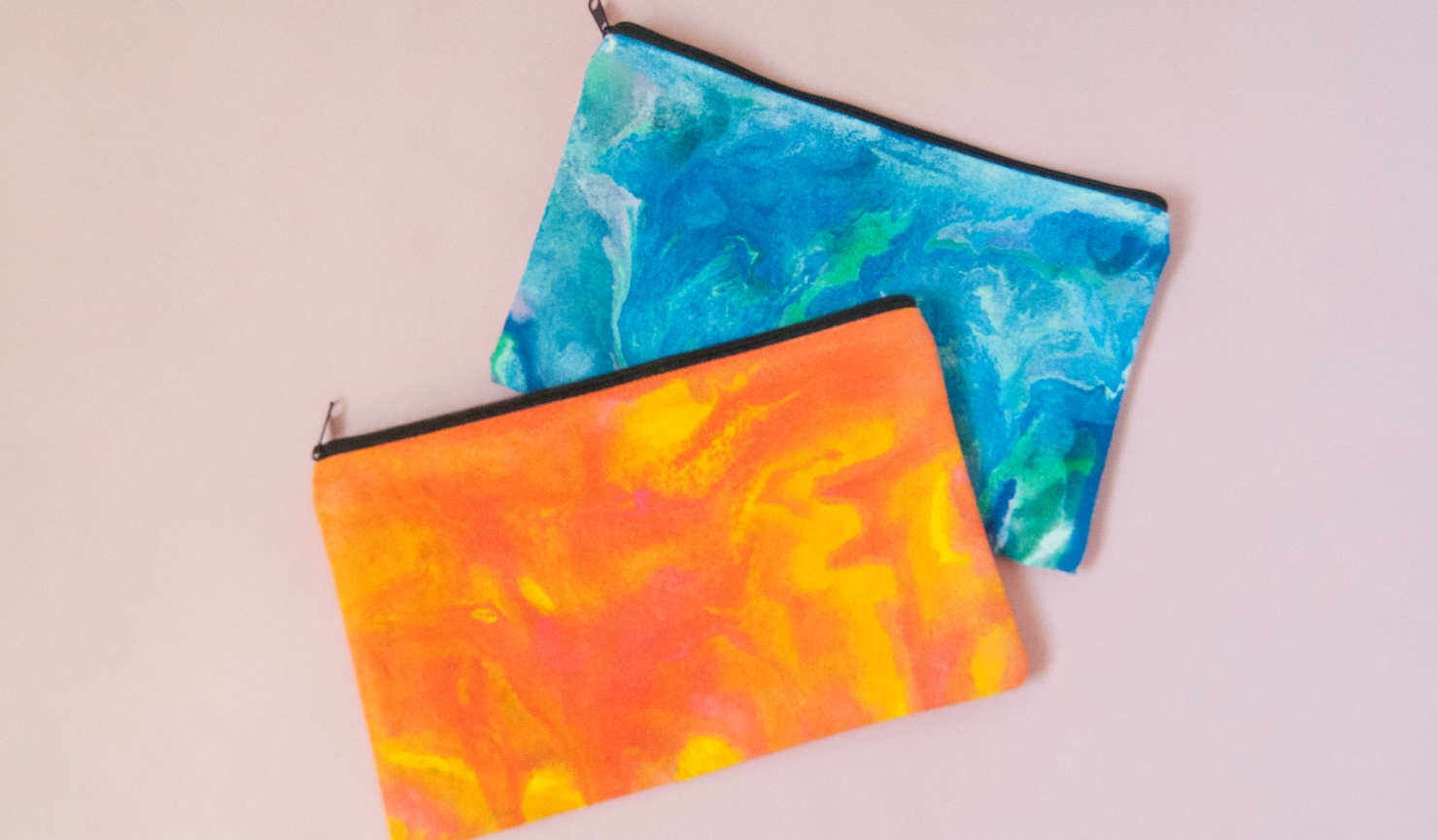 How To Use Brush-On Fabric Paint for Paint Pouring