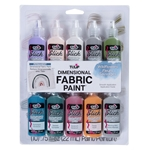 Picture of Dimensional Fabric Paint Wildflowers 10 Pack