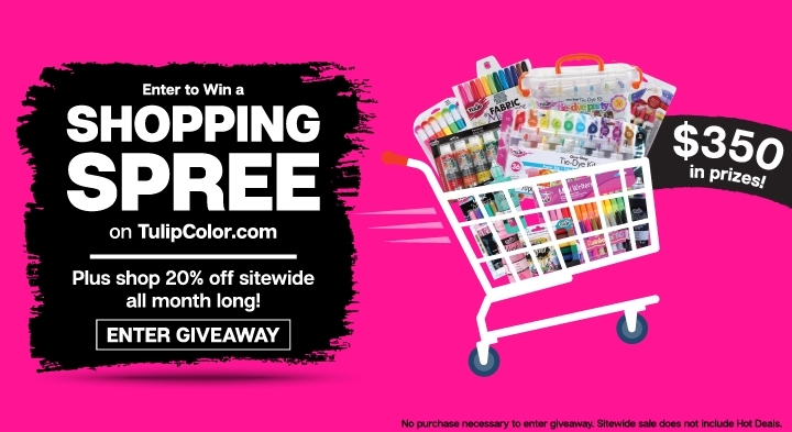 Tulip Shopping Spree Giveaway March 2021