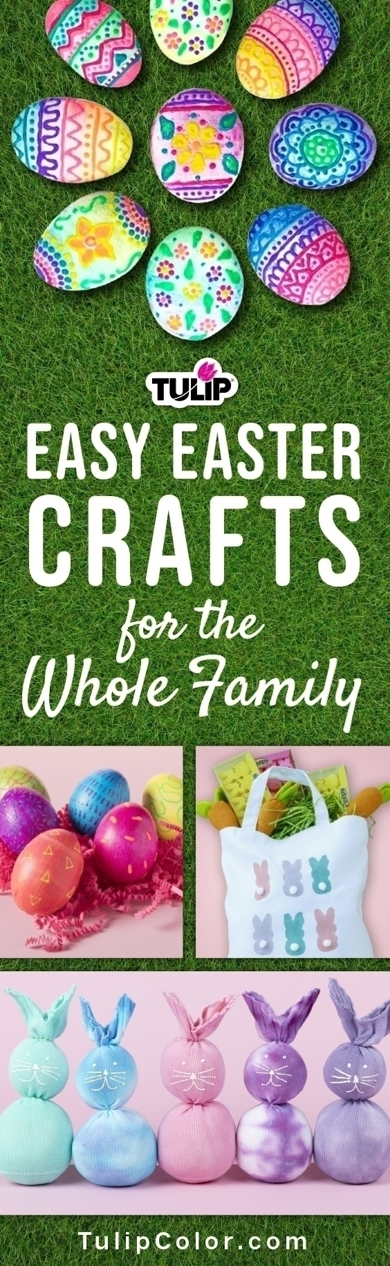 4 Easy Easter Projects for All Ages