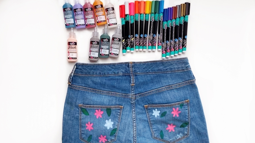 Personalized Hand-Painted Denim