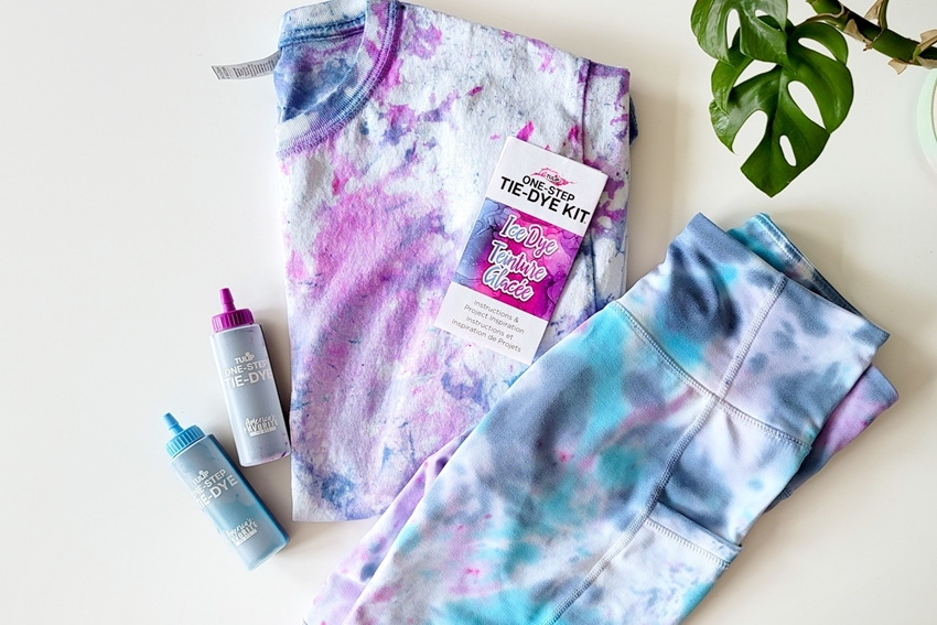 Picture of How to ice tie dye biker shorts