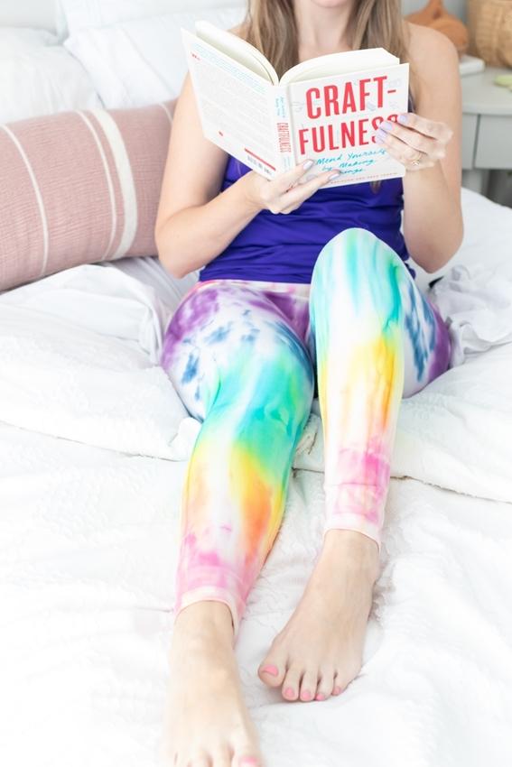 Rainbow Tie-Dye Leggings