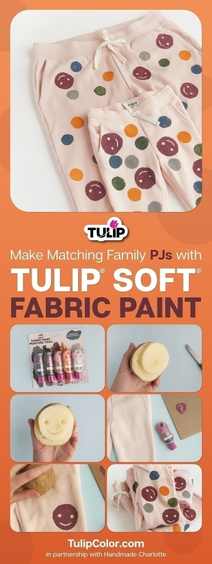 How to Use Fabric Paint for Matching Family PJs